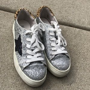 MIA Sparkly Shoes with Star!